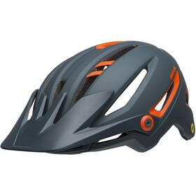 Bell Sixer MIPS Helmet ridgeline matte slate/orange